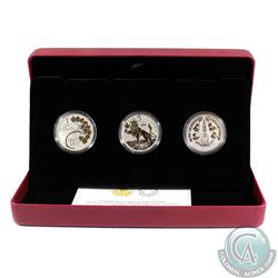 2017 Canada RCM Coin Lore - Forgotten 1927 Design 3-coin Silver Set (TAX Exempt)