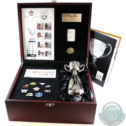 2012 Ultimate CFL Fan Set in Beautiful Wooden Display Case. Issued by Canada Post