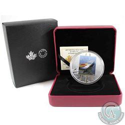 2017 Canada $20 En Plein Air - A Paddle Awaits Fine Silver Coin (TAX Exempt)