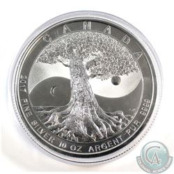 2017 Canada $50 Tree of Life 10oz Fine Silver Coin in Capsule (TAX Exempt)