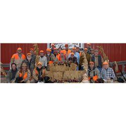 South Dakota Pheasant Hunt for 2 Hunters