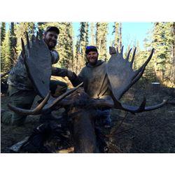 British Columbia 10 Day Trophy Moose Hunt