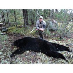 Saskatchewan Fly-in Black Bear Hunt/Fishing Combo
