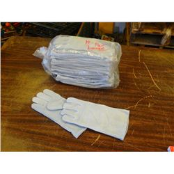 New Welding Gloves, Size Large, 10 Pairs