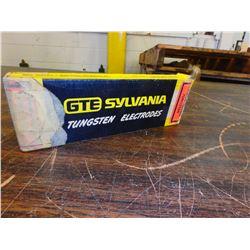 """New GTE Sylvania 3/16"""" x 7"""" Tungsten Electrodes"""