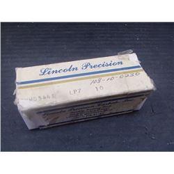New Lincoln Precision Carbide Inserts, P/N: TNMG544E LP7