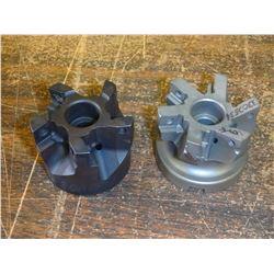 "2"" Indexable Coolant Thru Face Mills, Missing Insert set screws"
