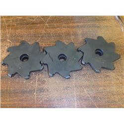 """Ingersoll 5"""" x 5/8"""" Indexable Slot Milling Cutters, P/N: 35B6K-05062D1R10"""