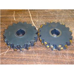 """Ingersoll 6"""" x 3/4"""" Indexable Slot Milling Cutters, P/N: 36J6B0612-44"""