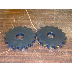 """Ingersoll 6"""" x 3/4"""" Indexable Slot Milling Cutters, P/N: 3SJ6H-06075AH-01"""