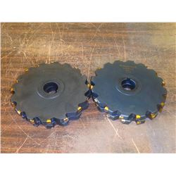 """Ingersoll 8"""" x 3/4"""" Indexable Slot Milling Cutters, See Desc for Info"""