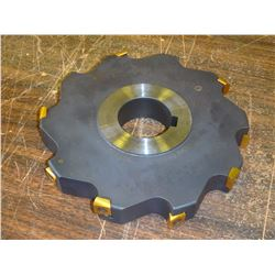 """Ingersoll 8"""" x 1.25"""" Indexable Slot Milling Cutter, P/N: 36J6E0820-03"""