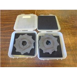 """New Ingersoll 7"""" x 1/2"""" Indexable Slot Milling Cutters, P/N: 35B6H0708-02"""
