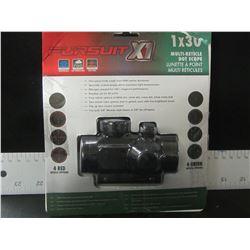Pursuit X1 1X30 Multi Dot Scope / 4 red / 4 green