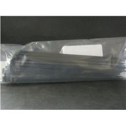12 inch Heavy Duty Cable/Zip ties / black 100 pieces