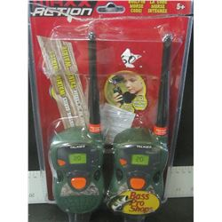 Kids Walkie Talkies with built in morse code / UNTESTED
