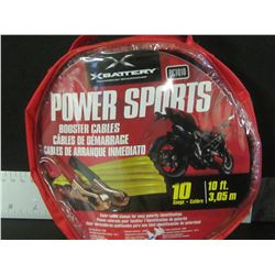 Power Sports Booster Cables / Great for ATV'S / BIKES