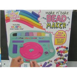 Make&Bake Bead Maker / mold model and bake your own jewlery