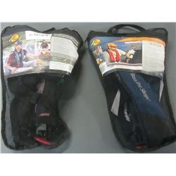 Set of 2 Automatic/Manual inflatable pfd / both need new co2 bottles if