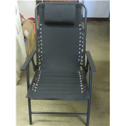 New black Folding Chair