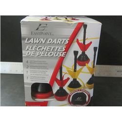 Lawn Darts / 4 soft tipped darts / 2 all weather target rings