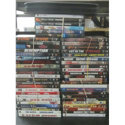 Huge Lot of 52 DVD Movies / 1 soft case full of Kids movies and shows