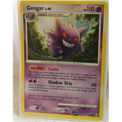POKEMON COLLECTOR CARD IN PROTECTIVE SLEEVE - GENGAR LV.44 - 16/99