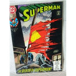 SUPERMAN - #75 - 1987 SECOND SERIES - 1993 PART 2 - CONDITION FAIR - WITH BAG