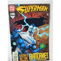 SUPERMAN #126 - SECRET OF THE BATCAVE - AUG 1997 #31 - CONDITION NEAR MINT # 31 - IN BAG