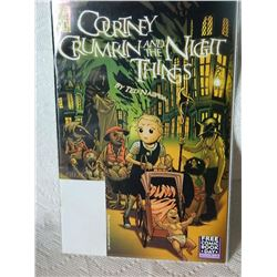 COURTNEY CRUMRIN AND THE NIGHT THINGS - #0 - 2003 - NEAR MINT WITH BAG & BOARD