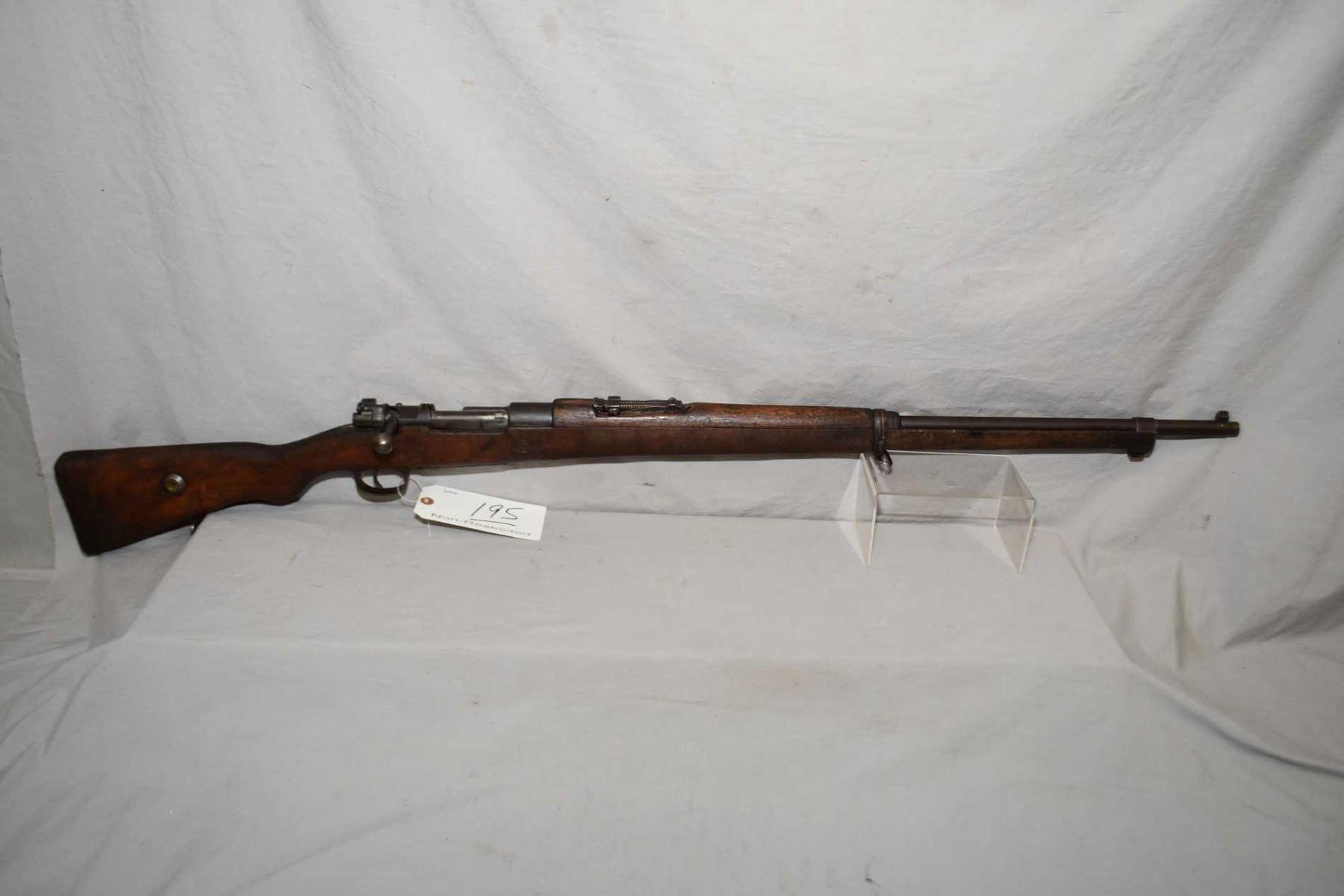 Turkish ( Ankara ) Mauser Model 1938 Turkish Short Rifle  8