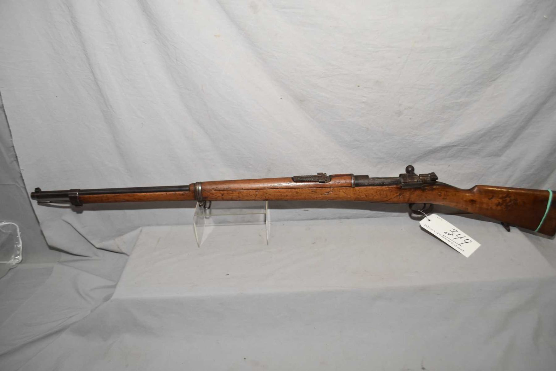 Turkish Mauser Model 1893 7 65 x 53 MM Cal Bolt Action Full