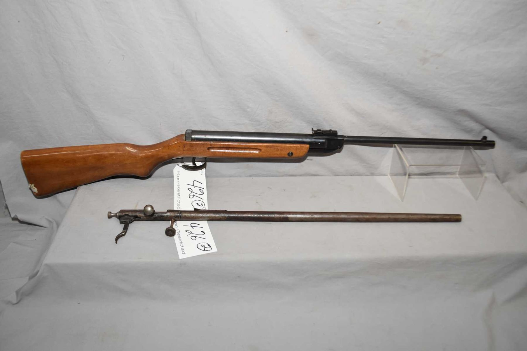 Lot of Two Firearms: Cooey Model 39  22 LR Cal Single Shot