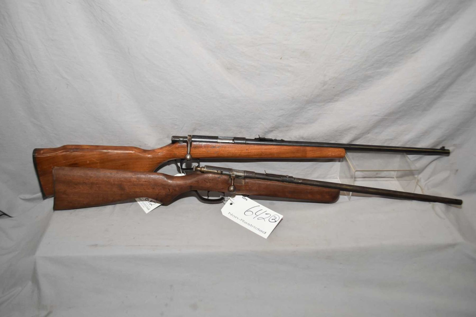 Lot of Two Firearms : North American Arms Model Grizzly  22 LR Cal