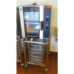 Moffat Turbo Fan E33D5 Convection Oven w/Sheet Pan Rack Stand
