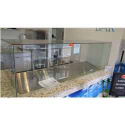 "Clear Glass Encasement (Front Glass 78""L, 2 Side Glass 22.5"", Top Glass 79""X22.5"")"