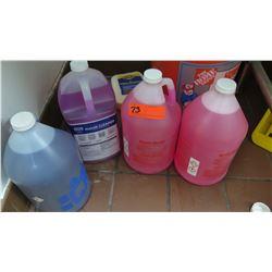 4 Bottles Floor Cleaning Sanitizing Solution