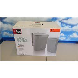 New Home Dual LU53PW Wall-Mount Indoor/Outdoor Speakers