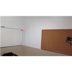 "Light-Up Neon ""OPEN"" Sign, 2 White Dry Erase Board 24X36, 2 Corkboards 24X36"