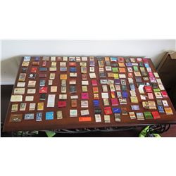 Large Collection of Matchbooks & Matchboxes
