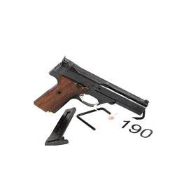 RESTRICTED. High Standard Bulls Eye Target Pistol