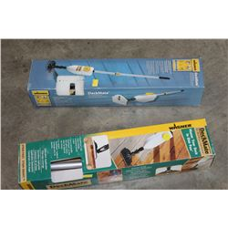 2 WAGNER DECKMATE DECK STAIN SEALER TOOL