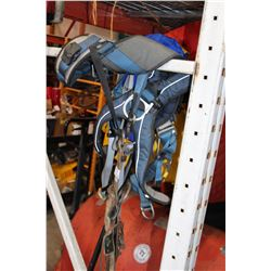 TWO SAFETY HARNESS