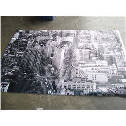 LARGE FABRIC CITY PRINT