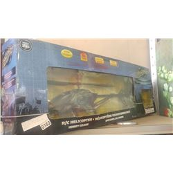 BLACK CAT HOBBY GRADE HELICOPTER IN BOX TESTED AND WORKING