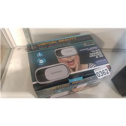SYLVANIA VIRTUAL REALITY 3D VIDEO GLASSES IOS AND ANDROID COMPATABLE
