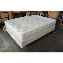 SLEEP ESSENTIALS OBUS FORME ARIEL QUEENSIZE MATTRESS AND BOXSPRING