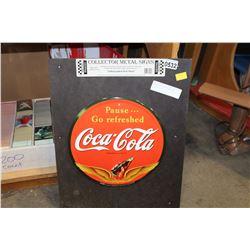 REPRODUCTION COCA COLA SIGN
