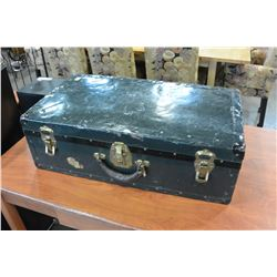 ANTIQUE GREEN SUITCASE
