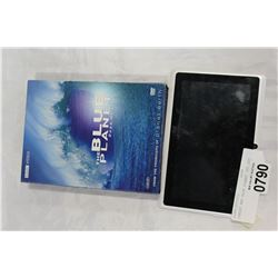 TABLET AND BLUE PLANET DVD SET